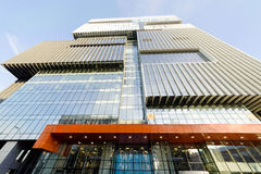 De bureaubouw en winkelcentrum, Moskou, Rusland Stock Afbeelding