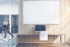 De bureaucellen met beelden zien uit op dubbel Stock Fotografie