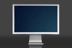 De bureaucomputer van  Stock Afbeeldingen