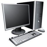 De bureaucomputer van. Royalty-vrije Stock Afbeeldingen