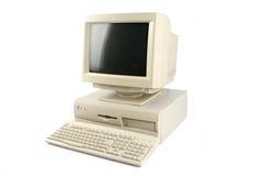 De bureaucomputer van  Stock Foto