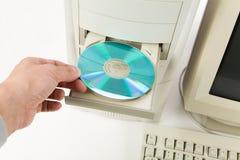 De Bureaucomputer van  Royalty-vrije Stock Fotografie
