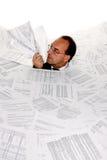 De bureaucratie van het symbool Stock Afbeelding