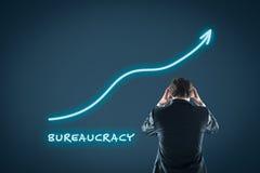 De bureaucratiegroei stock foto's