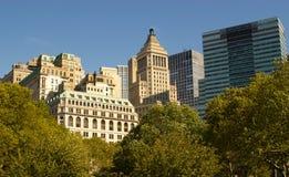 De bureaus van de binnenstad, NY Stock Foto's
