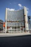 De bureaus van de Verenigde Naties in Wenen royalty-vrije stock afbeelding