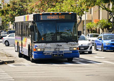 De bus in Hawaï royalty-vrije stock afbeeldingen