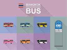 De bus van Bangkok Stock Fotografie