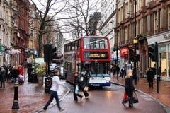 De bus van Birmingham Stock Foto's