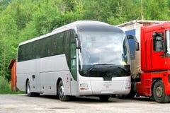 De Bus van de MENSENr07 Leeuw Stock Foto
