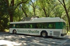 De Bus van de Pendel van de Vallei van Yosemite Stock Foto
