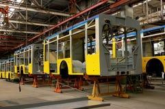 De bus van de productie royalty-vrije stock afbeelding