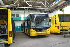 De bus van de productie stock foto