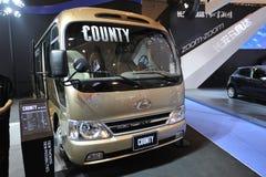 De bus van de PROVINCIE van Zuid-Korea Hyundai Stock Foto's