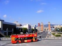 De Bus van de Reis van de Stad van Barcelona Royalty-vrije Stock Fotografie