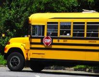 De Bus van de school Stock Afbeeldingen