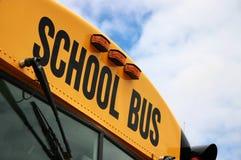 De Bus van de school Stock Foto's