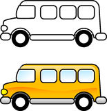 De Bus van de school Stock Afbeelding