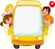 De bus van de school. Royalty-vrije Stock Foto's
