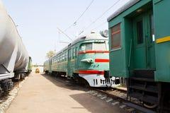 De bus van de spoorweg stock afbeelding