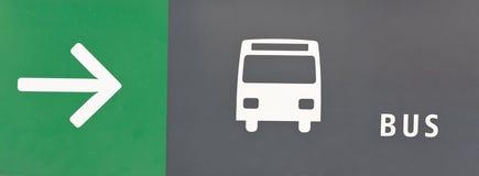 De bus van het adres royalty-vrije stock fotografie
