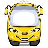 De bus van het beeldverhaal Stock Afbeelding