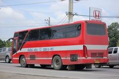 De bus van het Premprachabedrijf Stock Afbeeldingen