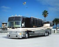 De bus van het strand Stock Fotografie