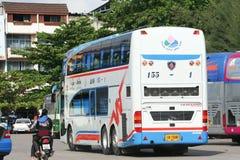 De bus van het Vintourbedrijf Route Phitsanulok en Chiangmai Royalty-vrije Stock Fotografie