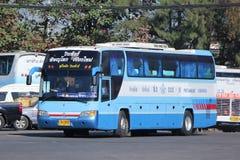 De bus van het Vintourbedrijf Route Phitsanulok en Chiangmai Royalty-vrije Stock Afbeelding