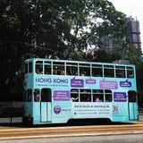 De bus van Hongkong Royalty-vrije Stock Fotografie