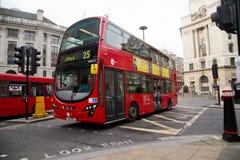 De bus van Londen Stock Fotografie