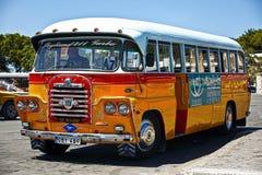 De Bus van Malta - Achterdetail stock fotografie