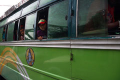 De bus van Nepal Stock Afbeelding