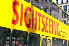 De bus van Sighseeing Stock Afbeeldingen