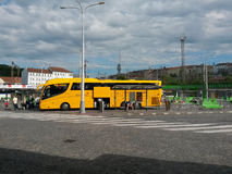 De bus van studentenAgency Stock Fotografie