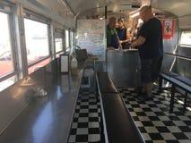De bus van de tacoschool stock foto