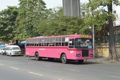 de busauto van Bangkok stock foto