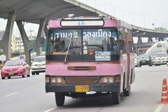 de busauto van Bangkok royalty-vrije stock afbeeldingen