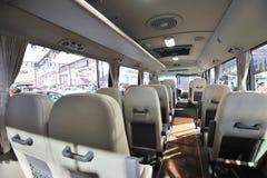 De busbinnenland van de PROVINCIE van Zuid-Korea Hyundai Stock Afbeelding