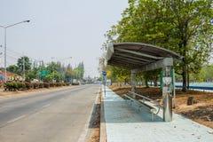 De bushalte Royalty-vrije Stock Afbeeldingen