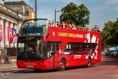 De busreis van Cardiff royalty-vrije stock afbeeldingen