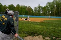 De bussen letten op een honkbalspel in Maryland royalty-vrije stock foto's