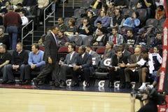 De Bussen van de Grizzlys van NBA Memphis stock afbeeldingen