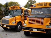 De bussen van de school Stock Afbeelding