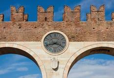 De Bustehouder van Porta in Verona Stock Foto