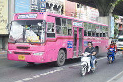 122 de Busterminal van Bangkok - Huai Khwang Stock Afbeeldingen