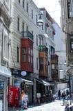 De buurt van Beyogluistanboel Stock Afbeelding