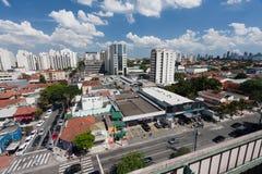 De Buurt van Moema in Sao Paulo Stock Foto