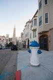 De Buurt van San Francisco stock foto's